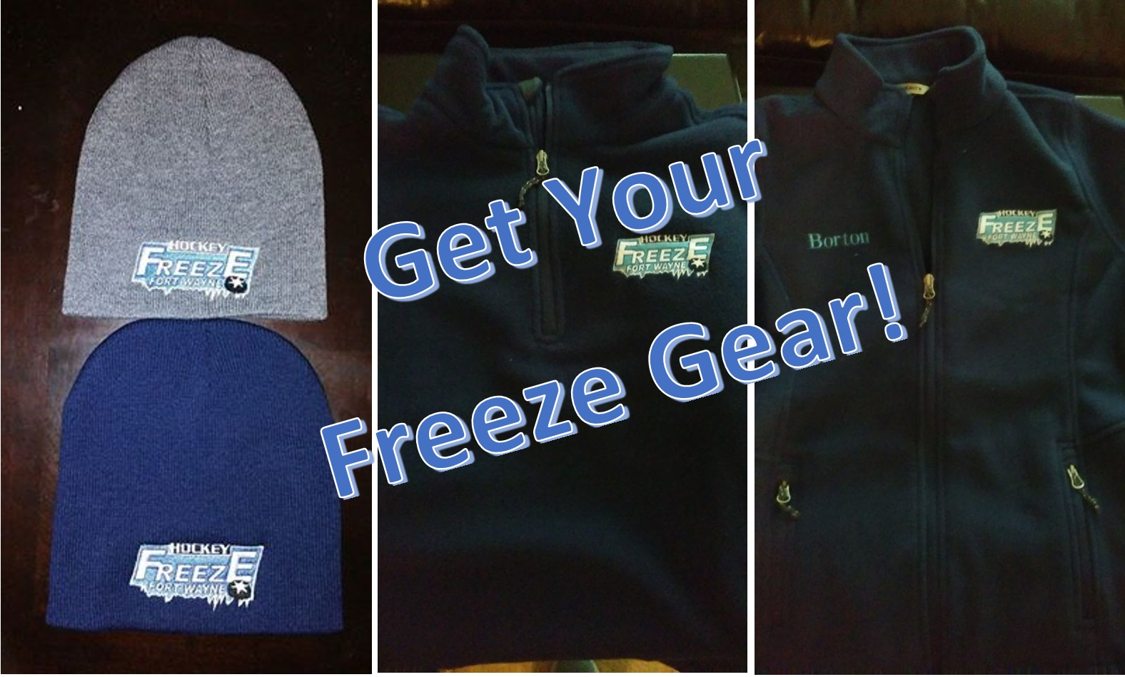 Get Your Freeze Gear!